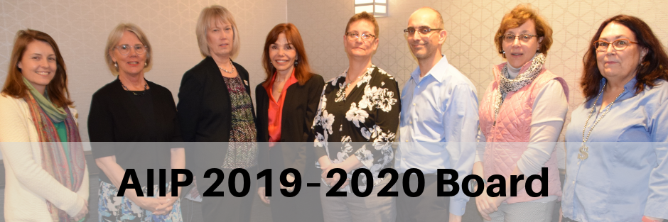 Photo of AIIP 2019-2020 Board